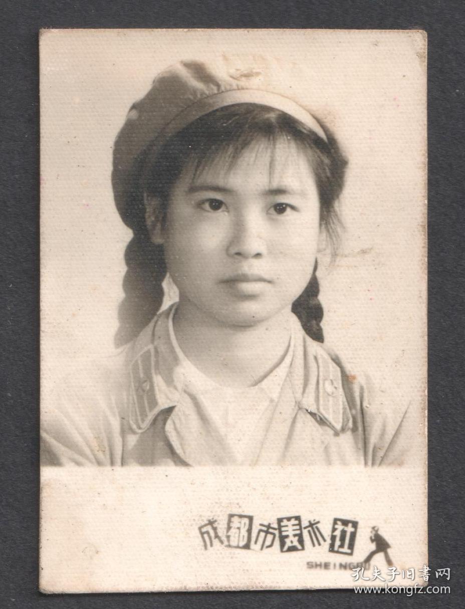 六七十年代,女兵老照片