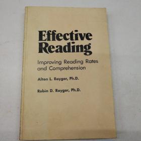 有效的阅读  提高阅读速度和理解能力   英文版