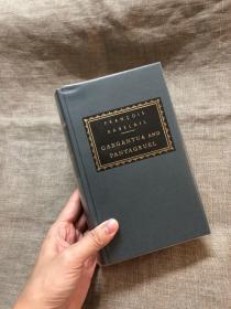 Gargantua and Pantagruel 巨人传 【人人文库,英译本,精装】送透明磨砂书套防磨损