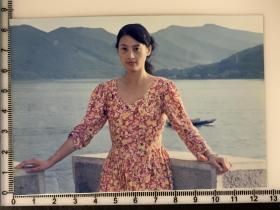 美女老照片 江山美人布拉吉连衣裙