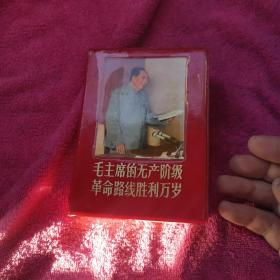 毛主席的无产阶级革命路线胜利万岁,书品如图,带盒