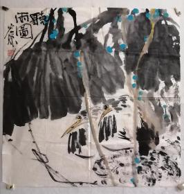 索宏源花鸟画老软片。