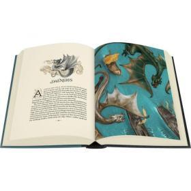 冰与火之歌第三部冰雨的风暴插画版限量版FOLIO A Storm of Sword George R. R. Martin Illustrated by Jonathan Burton