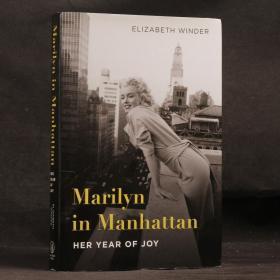 英文原版現貨 Marilyn in Manhattan: HER YEAR OF JOY 夢露在曼哈頓的日子【硬精裝】
