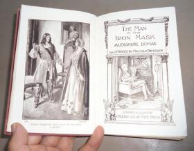 1910年 Alexandre Dumas - The Man in the Iron Mask  大仲马经典名著《铁面人》精装全插图本