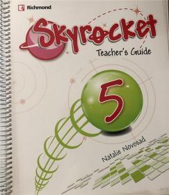 精装 skyrocket teachers guide 5 natalie novosad 空中火箭教师指南5娜塔莉·诺沃萨