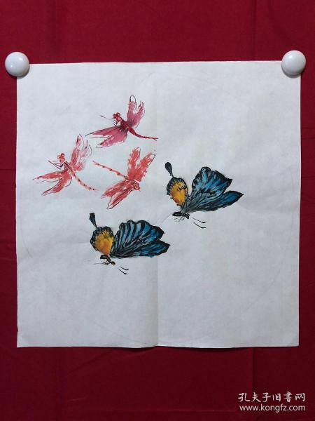 书画8725无款花鸟画习作