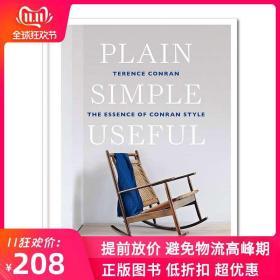 【预】Plain Simple Useful 室内设计师Terence Conran 居住空间装潢