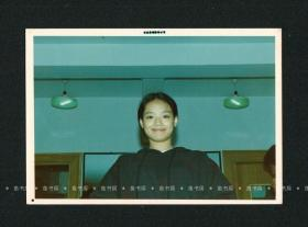 舒淇照片,罕见甜美素颜家居照,应未发表,台湾原版老照片