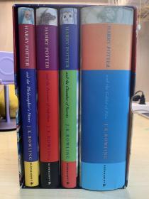 Harry potter 1-4 hardback 哈利波特英文原版 儿童版精装带盒 Box set