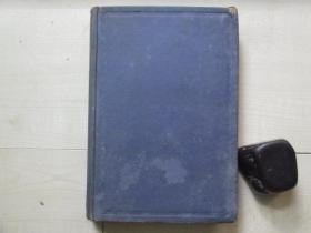 1934年16開精裝:中國之棉紡織業