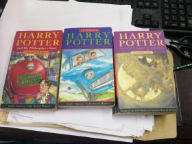 Harry Potter (英文儿童版口袋本三本)and the Philosopher's Stone