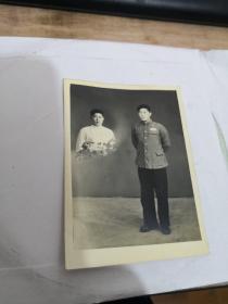 老照片:中国人民解放军  全身像。实物图 按图发货    编号 分1号册