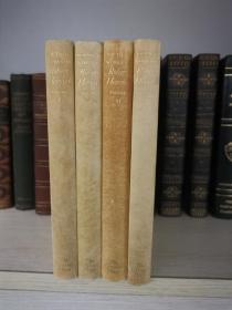 Poetical works of Robert Herrick 赫里克诗集 限量750套 本套编号95 犊皮纸装帧 牛津权威版 毛边本 用纸讲究