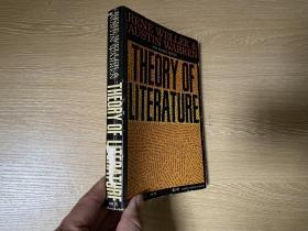 Theory Of Literature   韦勒克、沃伦《文学理论》英文原版, 非一般的受欢迎