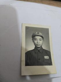 老照片:中国人民解放军  标准像。实物图 按图发货    编号 分1号册