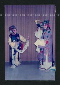 """""""合肥四姊妹""""之一 张元和签名照片,1993年昆剧《游园》剧照,张元和亲笔签名并题注,重要昆曲影像文献,罕见"""