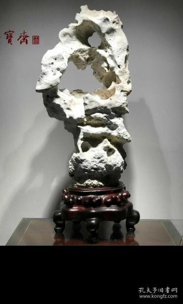 天然老太湖石,一眼千年,孔孔相連