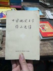 中国现代文学作品选讲