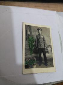 老照片:军装照  彩图 实物图 如图     编号 分1号册