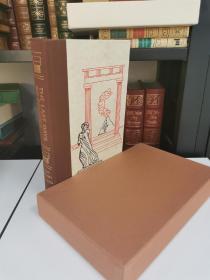 Last Days of Pompeii 《庞贝城的末日》爱德华 鲍沃尔 李敦 Sir Edward Bulwer Lytton史学经典 Heritage Press 1985年 布面精装本