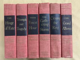 The Second World War  丘吉尔二战回忆录 完美品相 六本都是一版一印
