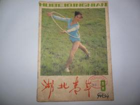 湖北青年1984.9【封二:抛锚(摄影小说)(杨洋摄);如何制作山石盆景(跃跃);李宁的雅趣(王永江等)】