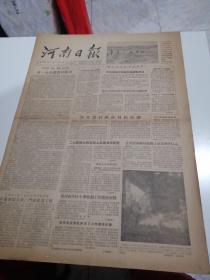 河南日报1956年6月8日(1-4版)生日报,老报纸,旧报纸……(讨论加强支援三门峡建设工程)。(开封市举行第六届团代表大会)。(制止孝义机制砖瓦厂非法加班加点现象)。(周总理出席瑞典大使举行的招待会)。(郭沫若谈我国科学技术发展远景规划)。(赫鲁晓夫等接见金日成)。(印度尼西亚政府宣布不再受禁运橡胶的约束)。(建设同意暂时撤回中立国视察小组)。(通过资格审查委员会的报告议程)。