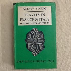 人人书库 Everyman's library #720   Travels in France & Italy