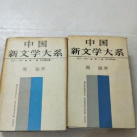 中国新文学大系1927一1937.文学理论第一,二集(馆藏)自然旧。