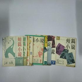 短篇小说(1984年的,4期,1985年的,5期;一共9本合售)