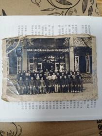 老照片(1962年西溪楼外楼老师傅及全体同志和解放军全体学员分别合影留念老照片)