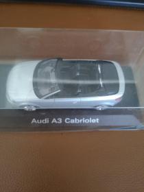Audi A3 Cabriolet车模(1:78比例)