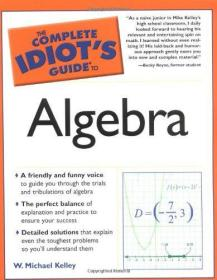 The Complete Idiots Guide to Algebra-完全白痴代数指南