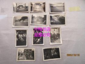 约解放初期汕头中山公园黑白照片一组共11张——汕头老照片