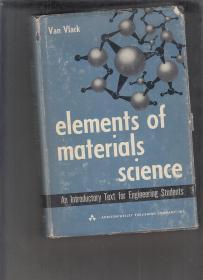 VAN VLACK ELEMENFS OF MATERIALS SCIENCE