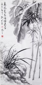 【自写自销】当代艺术家协会副主席王丞手绘 高风亮节谦谦君子