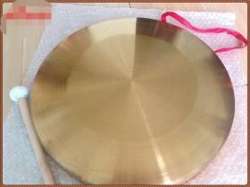 大型黄铜铜器铜锣直径15厘米
