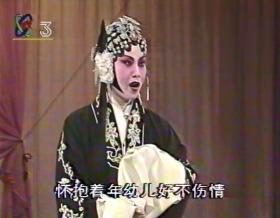 录像带 戏曲 京剧 张君秋舞台生活六十年演唱会、音配像 等零星片段具体见描述