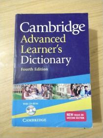 Cambridge Advanced Learner's Dictionary with CD-ROM剑桥高阶最新词典,第四版,附CD 英文原版