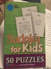数独 sudoku for kids: 50 puzzles