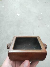 铜方香炉,年龄大了留着没用了低价出.
