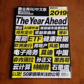 商业周刊/中文版Bloomberg Businessweek2018.22—2019展望特刊The Year Ahead