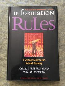 Information Rules:A Strategic Guide to the Network Economy
