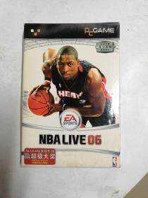 【游戏光盘】NBA LIVE 06 2光盘+手册