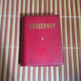 毛泽东思想胜利万岁 红宝书