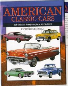 American Classic Cars - 300 Classic Marques From 1914-2000-美国经典车-从1914-2000年300个经典品牌