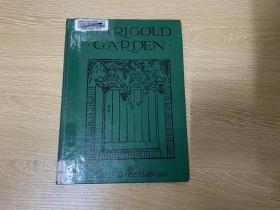 Kate Greenaway's Marigold Garden, 漂亮插图,精装16开