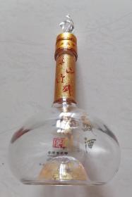 中国名酒西鳯酒华山论剑空酒瓶收藏