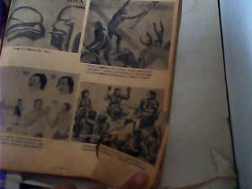 社会发展史画集 (上中下集)1951年初版